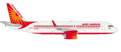 Herpa Wings 1:500 531177  Air India Airbus A320neo