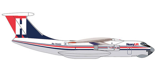 532785  HeavyLift Cargo Airlines Ilyushin IL-76 Herpa Wings
