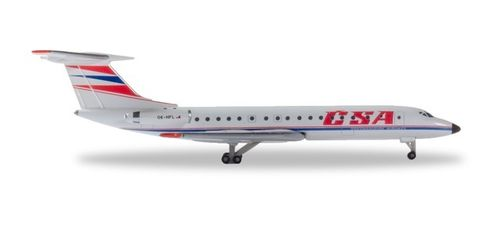 532945  CSA - Czechoslovak Airlines Tupolev TU-134A Herpa Wings
