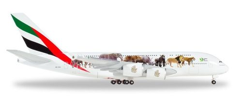 "531764  Emirates Airbus A380 ""United for Wildlife"""