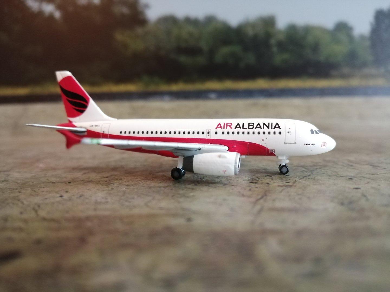Herpa Wings 1:500 533423 Air Albania Airbus a319