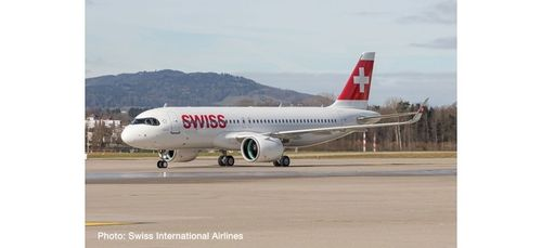 "1:200 Swiss International Air Lines Airbus A320 neo – HB-JDA ""Engelberg"" (18,80cm länge)"