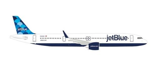 "Herpa Wings 533805 JetBlue Airways Airbus A321neo ""Balloons"" tail design"
