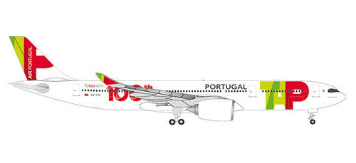 Herpa Wings 1_500 533843 TAP Air Portugal Airbus A330_900 neo 100th Aircraft CS-TUI