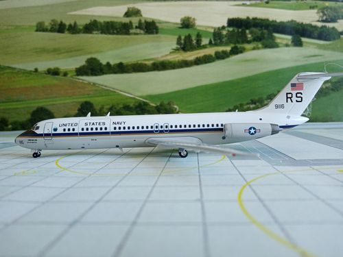 Inflight200 IFDC93IAF01 1//200 ITALY AIR FORCE DC-9-32  /& Herpa Wings Kataog