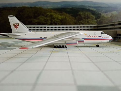 herpa Wings 1:500 Rossiya - Russian State Transport Corporation Antonov AN-124
