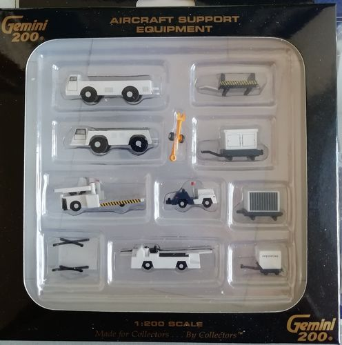 Gemini Jets G2APS451 - 1/200 AIRPORT SUPPORT EQUIPMENT #world-of-wings