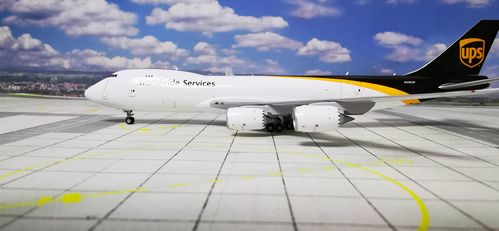 Gemini Jets 1:400 GJUPS1899 - 1/400 UPS B747-8F INTERACTIVE SERIES N606UP